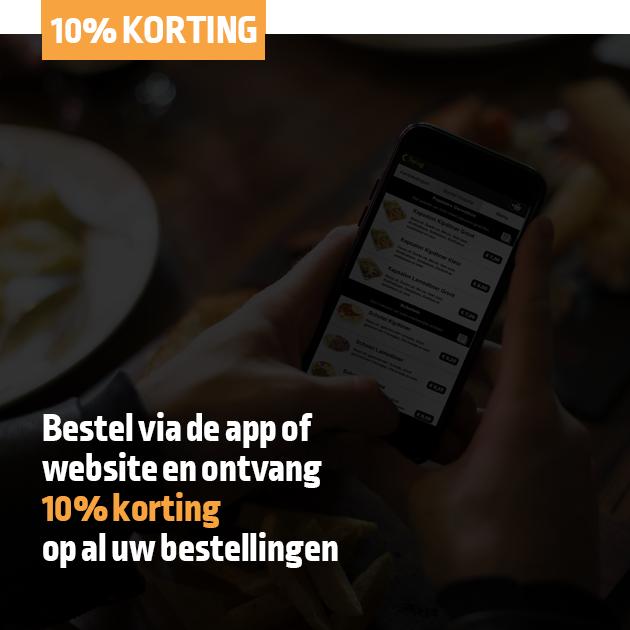 Misterkebab 10% App en website korting