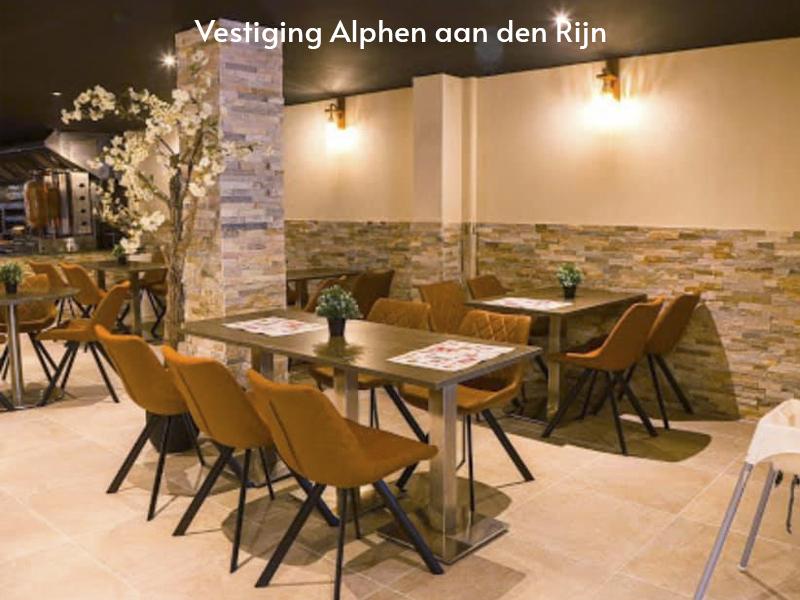 Misterkebab vestiging Alphen aan den Rijn- Binnenkant van het restaurant