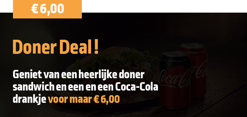 Korting Misterkebab: Doner Deal voor 6 Euro